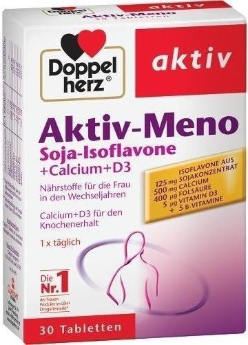 Queisser DOPPELHERZ Aktiv-Meno Tabletten 30 St