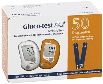 Esparma Gluco Test Plus Blutzuckerteststreifen (50 Stk.)