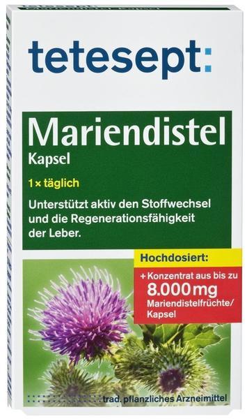 Merz Consumer Care GmbH TETESEPT Mariendistel Kapseln 24 St