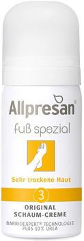 Allpresan Fuss spezial 3 Orginal Schaum-Creme sehr trockene Haut (35ml)