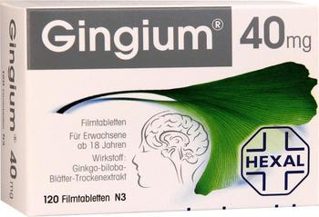 Gingium 40 mg Filmtabletten (120 Stk.)