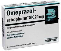 Ratiopharm OMEPRAZOL ratiopharm SK 20 mg msr.Hartkaps. 7 St