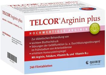 Quiris Telcor Arginin plus (240 Stk.)