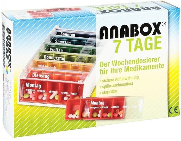 Wepa Anabox 7 Tage Regenbogen