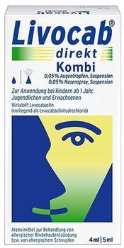 Livocab Direkt Kombipackung (4 ml + 5 ml)