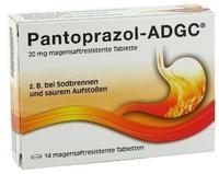 KSK-Pharma Vertriebs AG PANTOPRAZOL ADGC 20 mg magensaftres.Tabletten 7 St