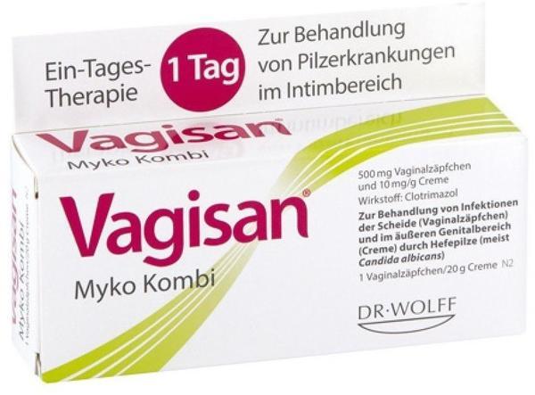 Linola VAGISAN Myko Kombi 1 Tagestherapie 1 P