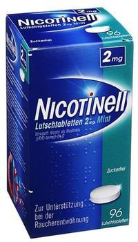 Novartis Nicotinell Mint 2 mg Lutschtabletten 96 St.