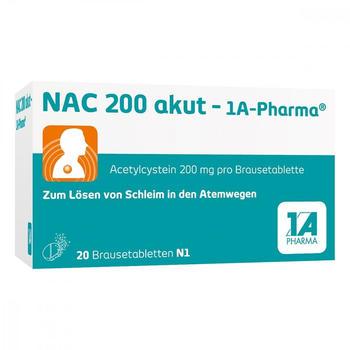 Nac 200 Akut Brausetabletten (20 Stk.)