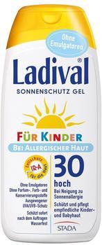 Ladival Allergischer Haut Sonnenschutz Gel für Kinder LSF 30 (200ml)