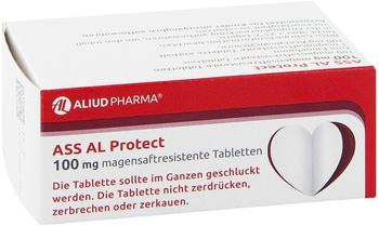 Aliud ASS AL Protect 100mg magensaftresistente Tabletten 100 St.