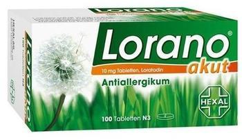 Lorano Akut Tabletten (100 Stk.)