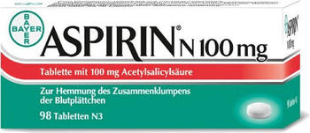 Aspirin N 100 mg Tabletten (98 Stk.)