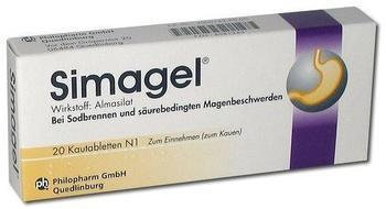 Simagel Kautabletten (20 Stk.)