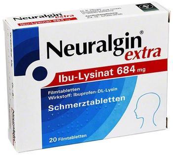 Neuralgin extra Ibu Lysinat Filmtabletten (20 Stk.)