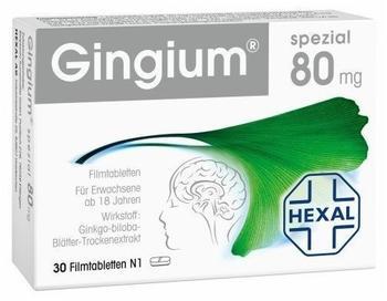 Gingium Spezial 80 Filmtabletten (30 Stk.)