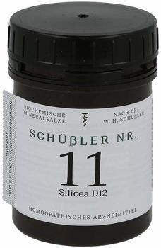 Apofaktur e K Schuessler Nr. 11 Silicea D12 Tabletten 400 St.