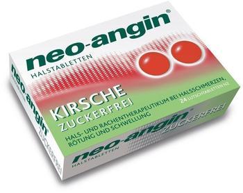 Neo-Angin Kirsche Zuckerfrei Halstabletten (24 Stk.)