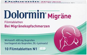 Dolormin Migräne Filmtabletten (10 Stk.)
