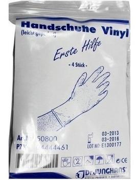 Dr. Junghans Medical Handschuhe Anti Aids Vinyl (4 Stk.)