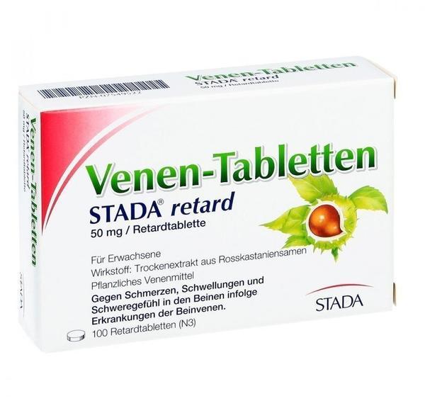 Venen Tabletten Stada retard Mengealternativen