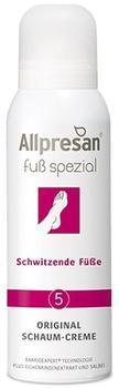 Allpresan Fuss spezial 5 Original Schaum-Creme Schwitzende Füße (125 ml)