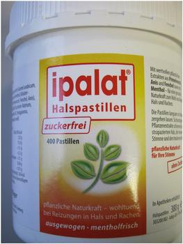 Ipalat Halspastillen Zuckerfrei (400 Stk.)