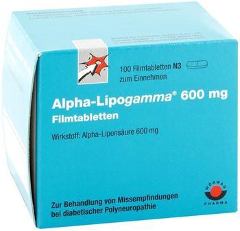 Wörwag Pharma Alpha-Lipogamma 600mg Filmtabletten 100 St.