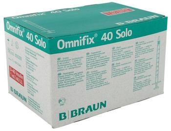 B. Braun Omnifix Solo Insulinspritze U40 (100x1ml)