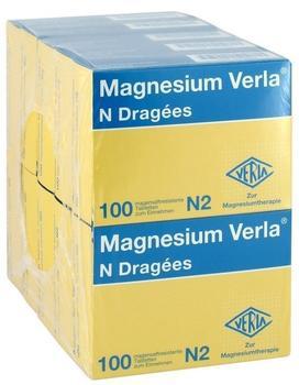 Magnesium Verla N Dragees (10 x 100 Stk.)