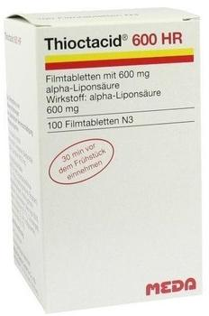 Thioctacid 600 HR Filmtabletten (100 Stk.)