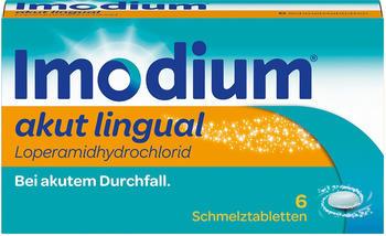 Imodium Akut Lingual Tabletten (6 Stk.)
