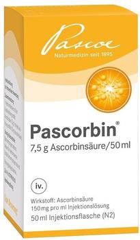 PASCOE Pharmazeutische Präparate GmbH PASCORBIN Injektionslösung 50ml