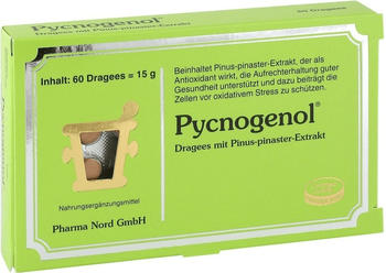 Pharma Nord Pycnogenol Kiefernrindenextrakt Dragees (60 Stk.)