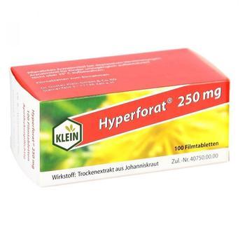 Dr Gustav Klein GmbH & Co KG HYPERFORAT 250 mg Filmtabletten 100 St