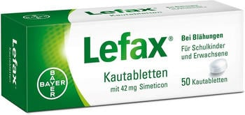 Lefax Kautabletten (50 Stk.)
