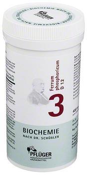A. Pflüger Biochemie 3 Ferrum Pho D12 Tabletten (400 Stk.)