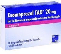 TAD Pharma ESOMEPRAZOL TAD 20 mg bei Sodbrennen msr.Hartkaps. 14 St