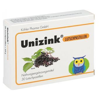 Köhler Pharma GmbH Unizink Lutschpastillen