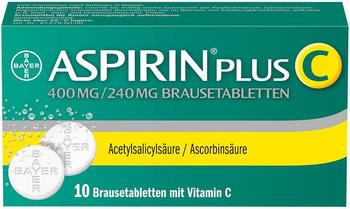 Aspirin Plus C Brausetabletten (10 Stk.)