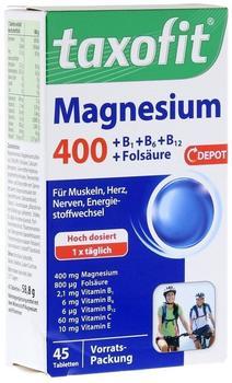 Klosterfrau Taxofit Magnesium 400 Tabletten (45 Stk.)