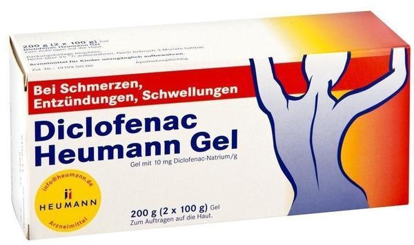 HEUMANN PHARMA GmbH & Co Generica KG DICLOFENAC Heumann Gel 200 g