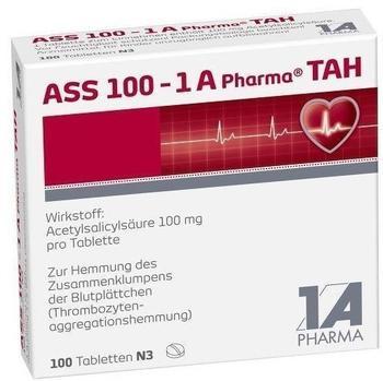 1 A Pharma ASS 100 - 1 A Pharma TAH