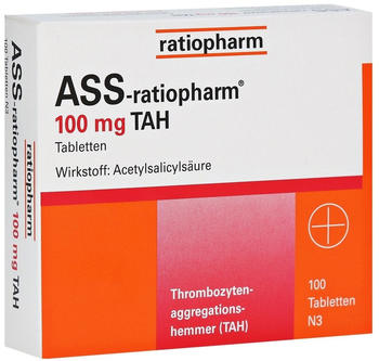 ASS 100 TAH Tabletten (100 Stk.)