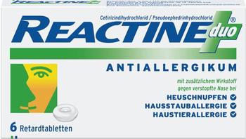 Reactine Duo Tabletten (6 Stk.)