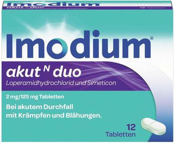 Johnson & Johnson GmbH (OTC) Imodium akut N duo Tabletten 12 St.