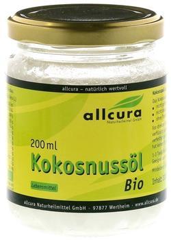 Allcura Kokosnussöl Bio (200ml)