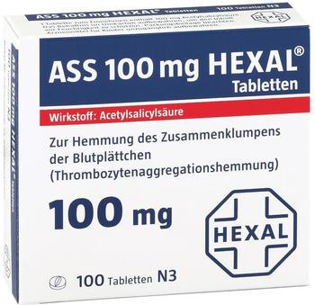 ASS 100 Tabletten (100 Stk.)