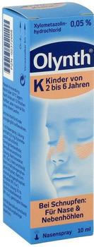 Olynth 0,05% Nasentropfen für Kinder Pipettenflasche (10 ml)