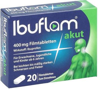 Ibuflam akut 400 mg Filmtabletten (20 Stk.)
